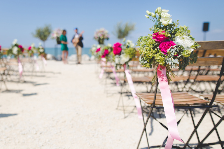 perfect beach wedding on the central coast