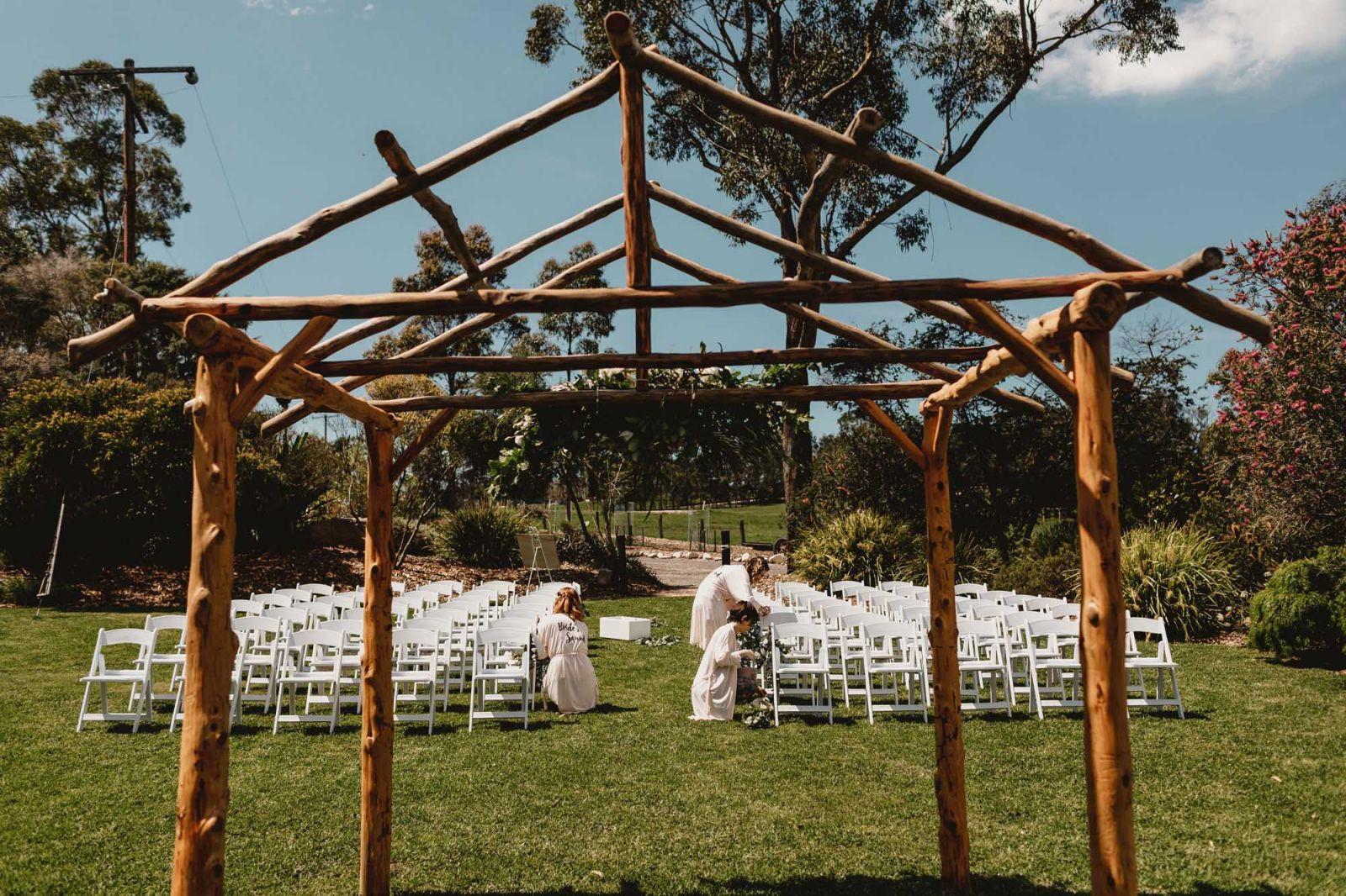 somersby garden estate wedding central coast
