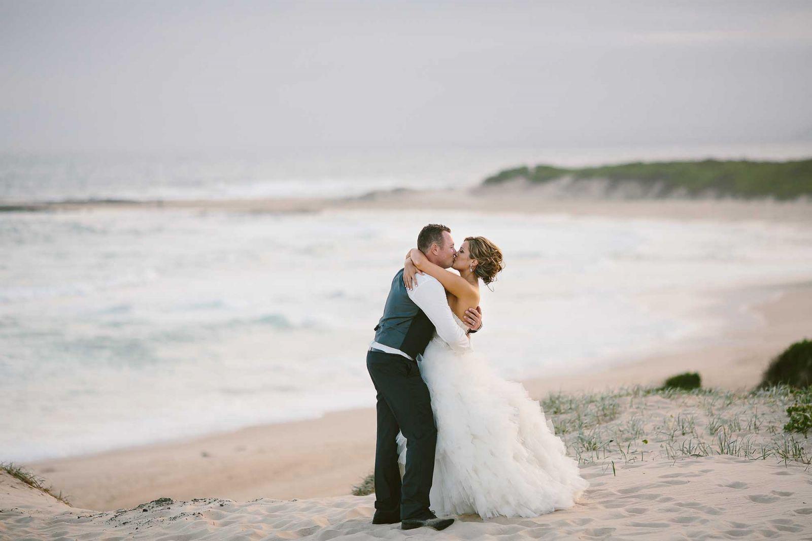 soldiers beach wedding