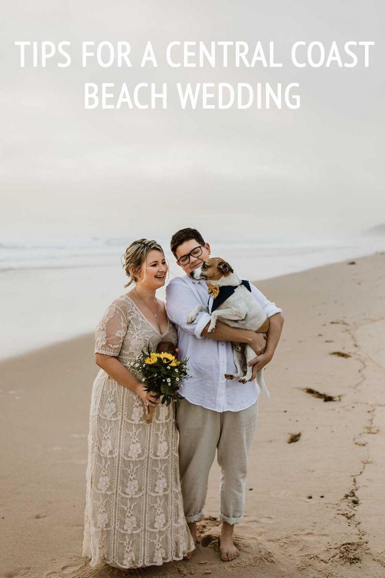 central coast beach weddings