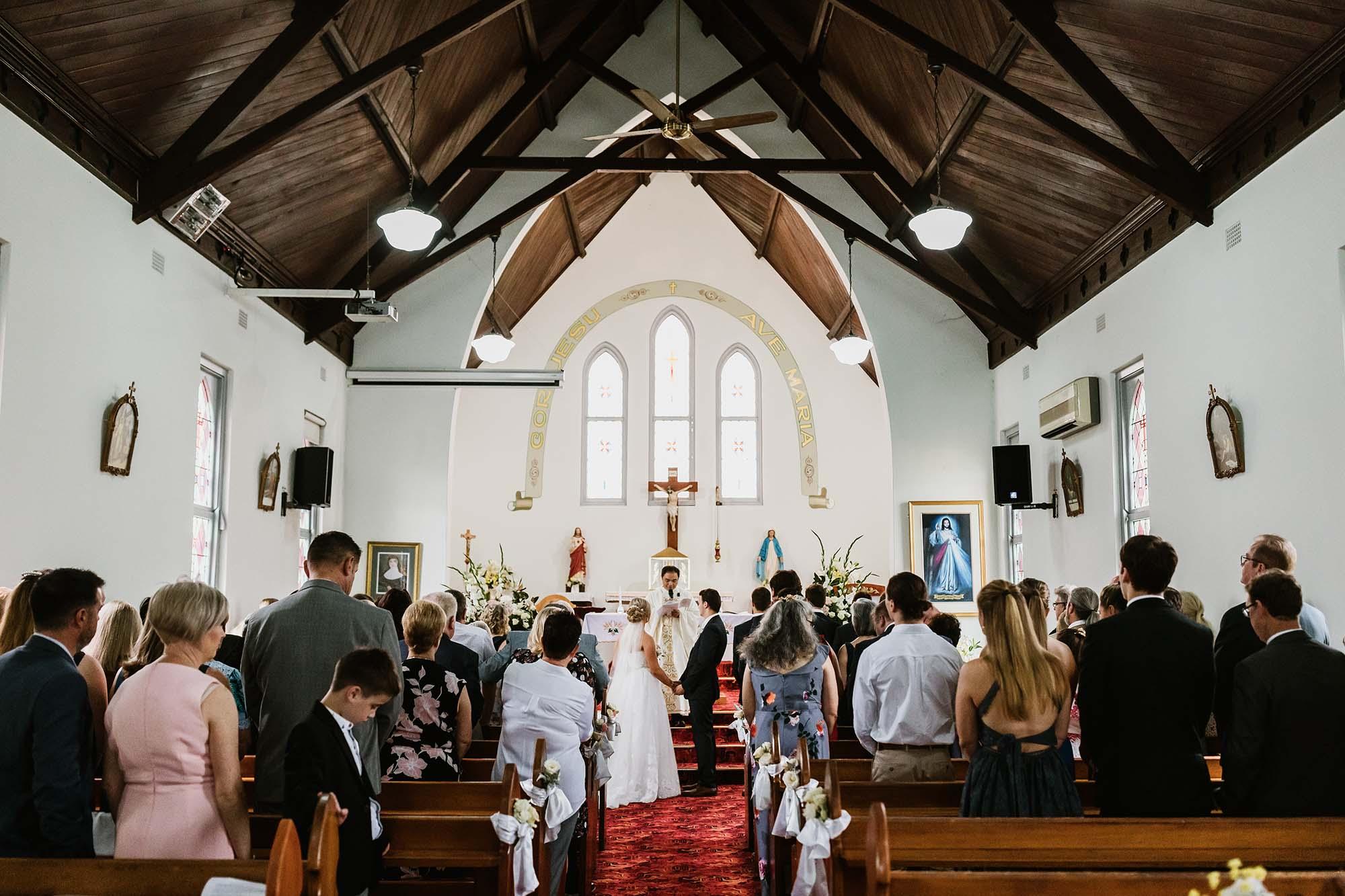 central coast churches wedding
