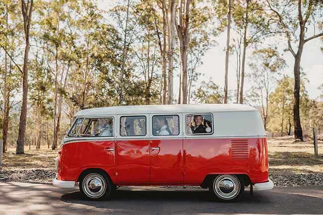 central coast wedding cars